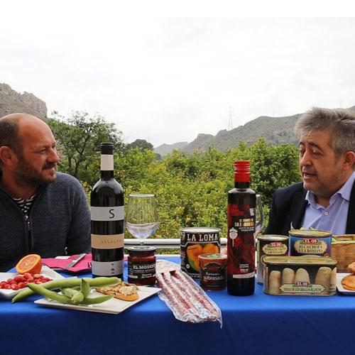 Paco El Huertanico y José Ramón El Cuenta Vinos